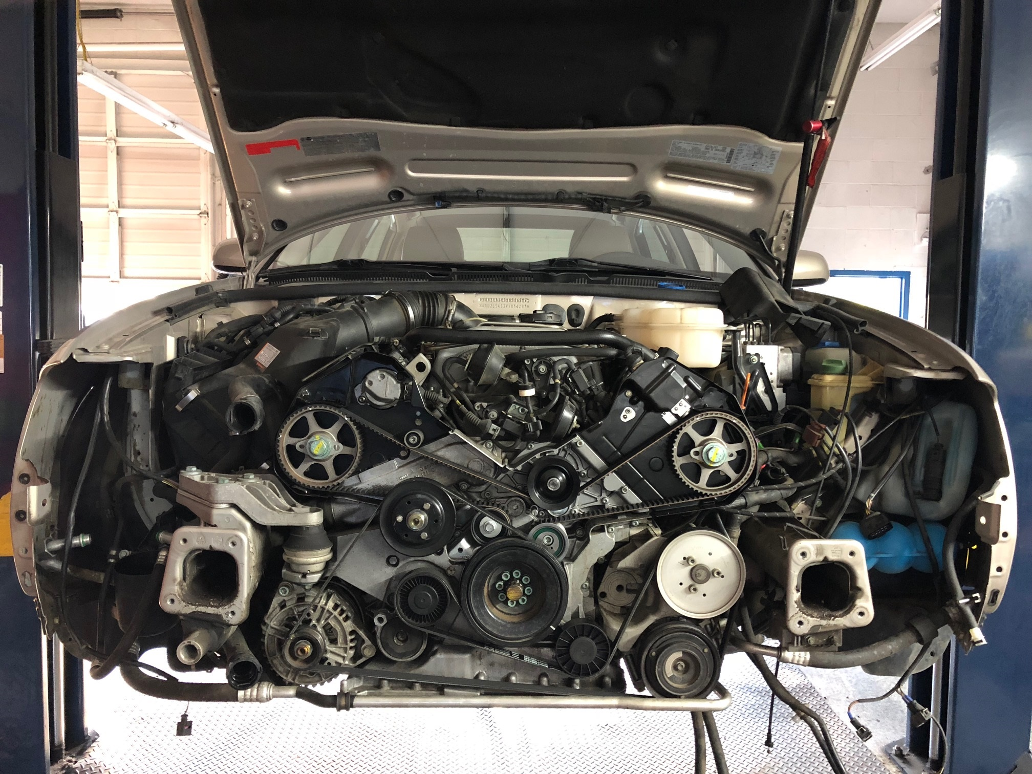 2000 Audi A6 V8 Timing Belt Service | Henry's Auto – Foreign Auto Service  and Sales near Medford, Oregon | Audi Timing Belt |  | Henry's Auto